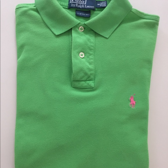 Shirt Green Polo Size Color Ralph Lauren S Men For wNOX0k8nP